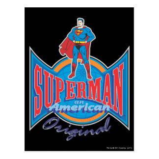 Superman American Original Postcard