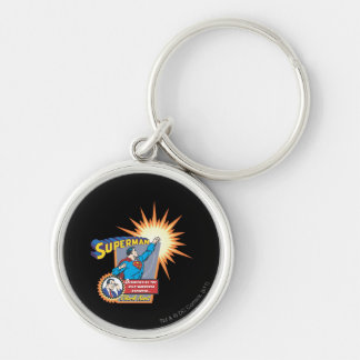 Superman and Clark Kent Key Ring