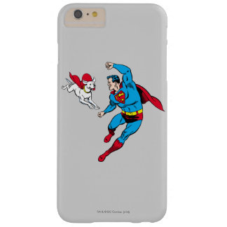 Superman and Krypto 2 Barely There iPhone 6 Plus Case