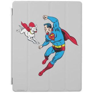 Superman and Krypto 2 iPad Cover