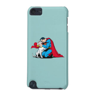Superman and Krypto iPod Touch (5th Generation) Cases