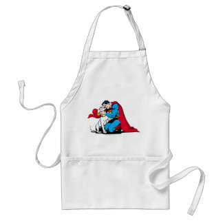 Superman and Krypto Standard Apron