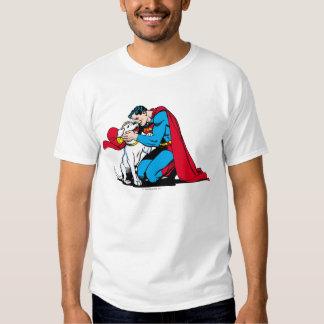 Superman and Krypto Tees