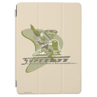 Superman and Train iPad Air Cover
