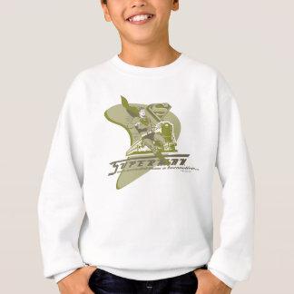 Superman and Train Sweatshirt