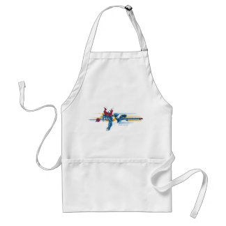 Superman and World Map Standard Apron