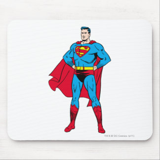 Superman Arms Folded Mouse Mat