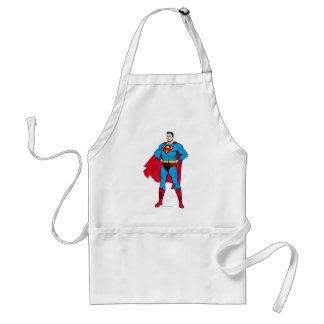 Superman Arms Folded Standard Apron