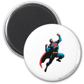 Superman Arms Raised Magnet