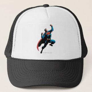 Superman Arms Raised Trucker Hat