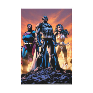 Superman, Batman, & Wonder Woman Trinity Canvas Print