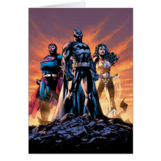 Superman, Batman, & Wonder Woman Trinity Card