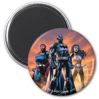 Superman, Batman, & Wonder Woman Trinity Magnet