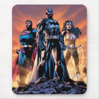 Superman, Batman, & Wonder Woman Trinity Mouse Mat