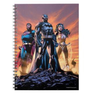 Superman, Batman, & Wonder Woman Trinity Notebook