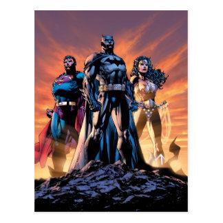 Superman, Batman, & Wonder Woman Trinity Postcard