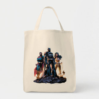 Superman, Batman, & Wonder Woman Trinity Tote Bag