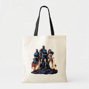 03e9a4eda Superman, Batman, & Wonder Woman Trinity Tote Bag
