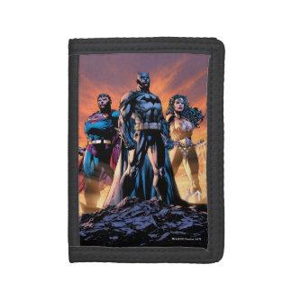 Superman, Batman, & Wonder Woman Trinity Tri-fold Wallet