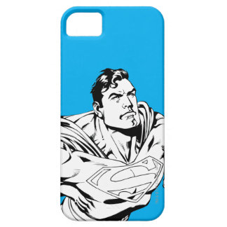 Superman Black and White 1 Barely There iPhone 5 Case