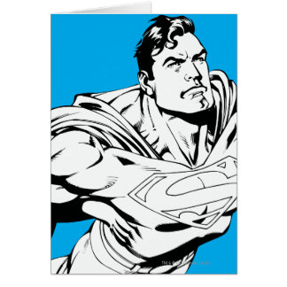 Superman Black and White 1 Cards