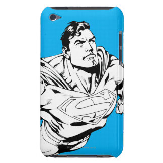 Superman Black and White 1 iPod Touch Cases