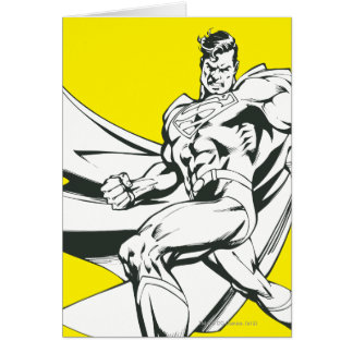 Superman Black and White 2 Cards