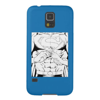 Superman Black and White 3 Cases For Galaxy S5