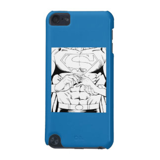Superman Black and White 3 iPod Touch 5G Case