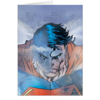 Superman - Blue Greeting Cards
