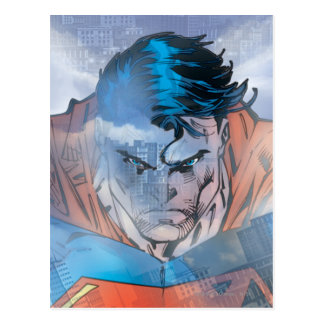 Superman - Blue Postcard