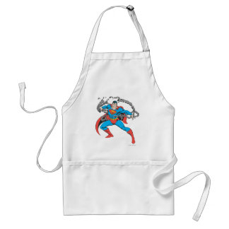 Superman Breaks Chains 2 Standard Apron