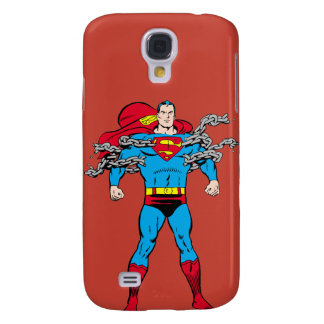 Superman Breaks Chains Galaxy S4 Case
