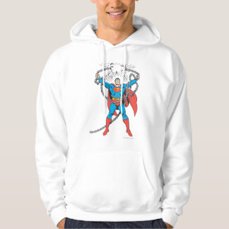 Superman Breaks Chains Hoodie