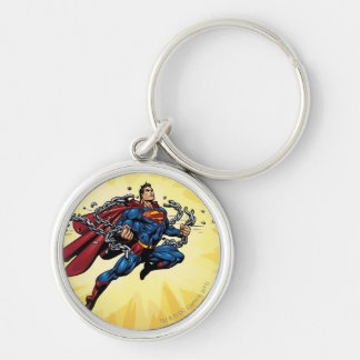 Superman breaks chains key ring