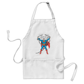 Superman Breaks Chains Standard Apron
