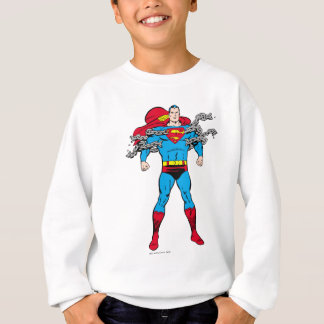Superman Breaks Chains Sweatshirt
