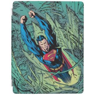 Superman breaks through iPad cover