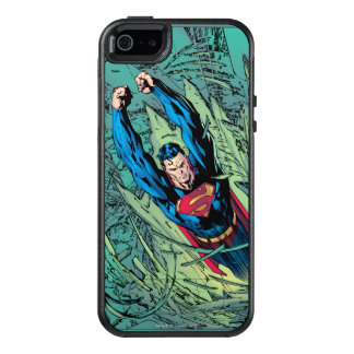 Superman breaks through OtterBox iPhone 5/5s/SE case