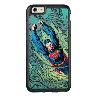 Superman breaks through OtterBox iPhone 6/6s plus case