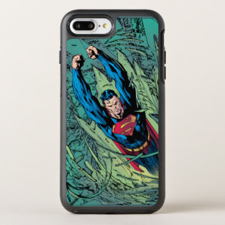 Superman breaks through OtterBox symmetry iPhone 8 plus/7 plus case