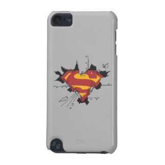 Superman broken metal iPod touch 5G covers