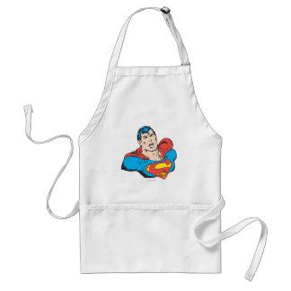 Superman Bust 1 Apron