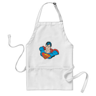 Superman Bust 2 Standard Apron