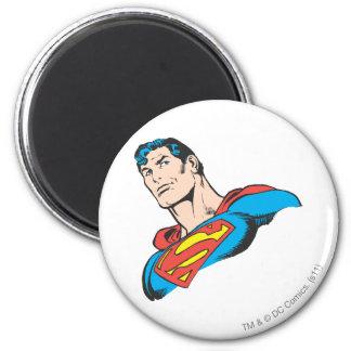 Superman Bust 3 6 Cm Round Magnet