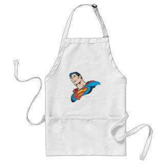 Superman Bust 3 Adult Apron