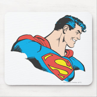 Superman Bust 4 Mouse Pad
