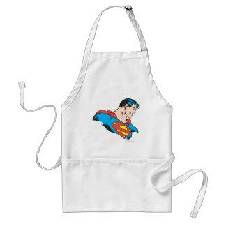 Superman Bust 4 Standard Apron