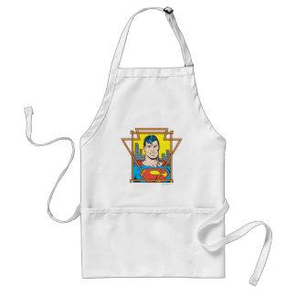Superman Bust Standard Apron