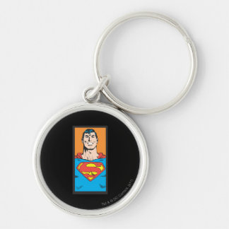 Superman Bust Frame Key Ring